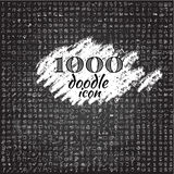 Set of 1000 doodle icon Stock Photo