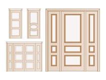 Set door interior Stock Images