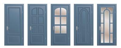 Set of doors Stock Photography