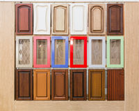 Set of doors Royalty Free Stock Images