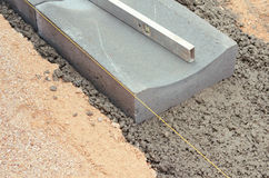 Set of drain tile. Construction road Royalty Free Stock Photos