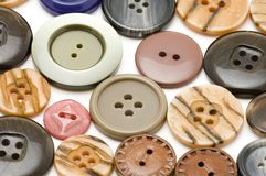 Set of dress button stock images