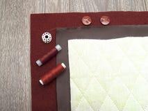 Set dressmaking i target553_0_ Obrazy Stock