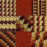 Set drewnianego podłoga wzoru bezszwowe wytwarzać tekstury ilustracja wektor