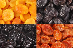 Set of dried fruits Royalty Free Stock Photo