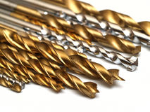 Set of drill bits Stock Photography