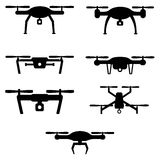 Set of drones Stock Images