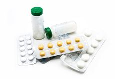 Set of drugs Stock Images