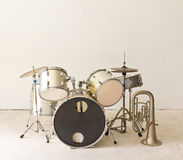 Set of drums Royalty Free Stock Photography
