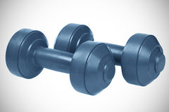 Set of dumb bells Royalty Free Stock Photo