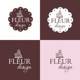 Set of dumplings, pelmeni, vector realistic label.Set of labels or Stickers - pastry, macaroon, donut, bakery, candy shop - Design vector illustration