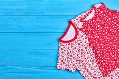 Set dziecka lata suknie Zdjęcie Stock