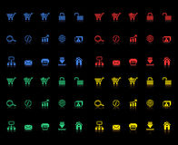 Set of e-commerce icons Stock Images