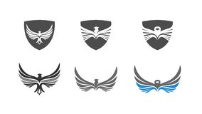 Set of Eagle Logo Vector vector illustration