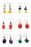 A set of earrings Stock Photos
