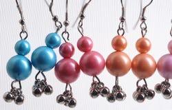 Set of earrings Stock Photo