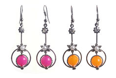 Set of earrings Stock Photo
