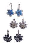 Set of earrings Royalty Free Stock Photo
