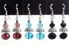 Set of earrings Stock Photography