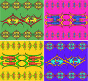 Set of east ornaments Royalty Free Stock Images