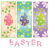 Set of easter banner vector Stock Photo