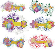 Set of easter banners Royalty Free Stock Photo