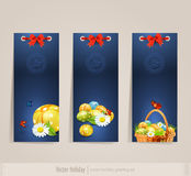 The set Easter card Royalty Free Stock Photos
