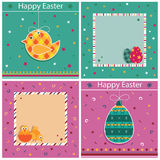 Easter cards Stock Image
