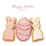 Set from Easter cookies Stock Photo