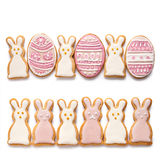 Set from Easter cookies Royalty Free Stock Image