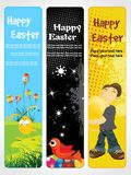 Set of easter day banner Royalty Free Stock Photo