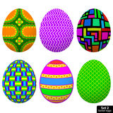 Set Easter Egg Royalty Free Stock Images