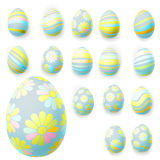 Set of easter eggs. EPS 10 Royalty Free Stock Photography