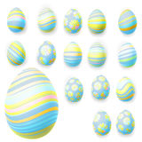 Set of easter eggs. EPS 10 Stock Image
