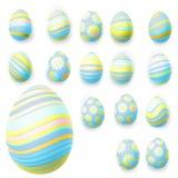 Set of easter eggs. EPS 10 Stock Image