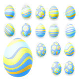 Set of easter eggs. EPS 10 Stock Photos