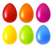Set of Easter eggs Stock Photo