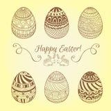 Set Easter jajka Zdjęcie Stock