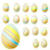 Set Easter jajka 10 eps Fotografia Stock