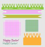 Set of easter symbols Royalty Free Stock Photos