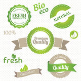 Set of eco elements Stock Photos