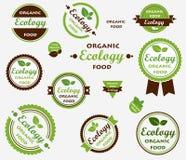 Set Eco Kennsätze Stockfotos