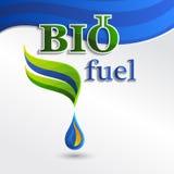 Set  Eco logos, design bio fuel elements Stock Photos