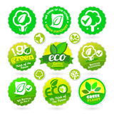 Set of Eco - Recycle - Green icons Stock Photography