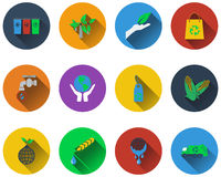 Set of ecological icons Stock Images