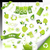 Set of ecology icons. Stock Images