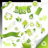 Set of ecology icons. Stock Image