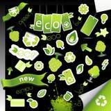 Set of ecology icons. Stock Photos