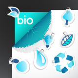 Set of ecology icons. Stock Photo