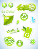 Set of ecology icons. Stock Photography